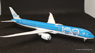 KLM B787-10, 100 years special livery.  By NG Models in 1.400 scale. | by dc10forlife