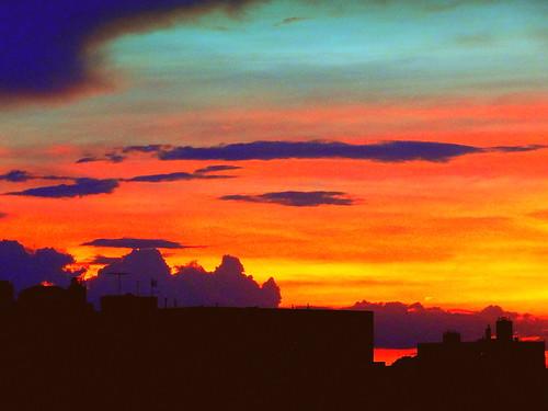 newyork brooklyn dmitriyfomenko image sky skyline clouds sunset