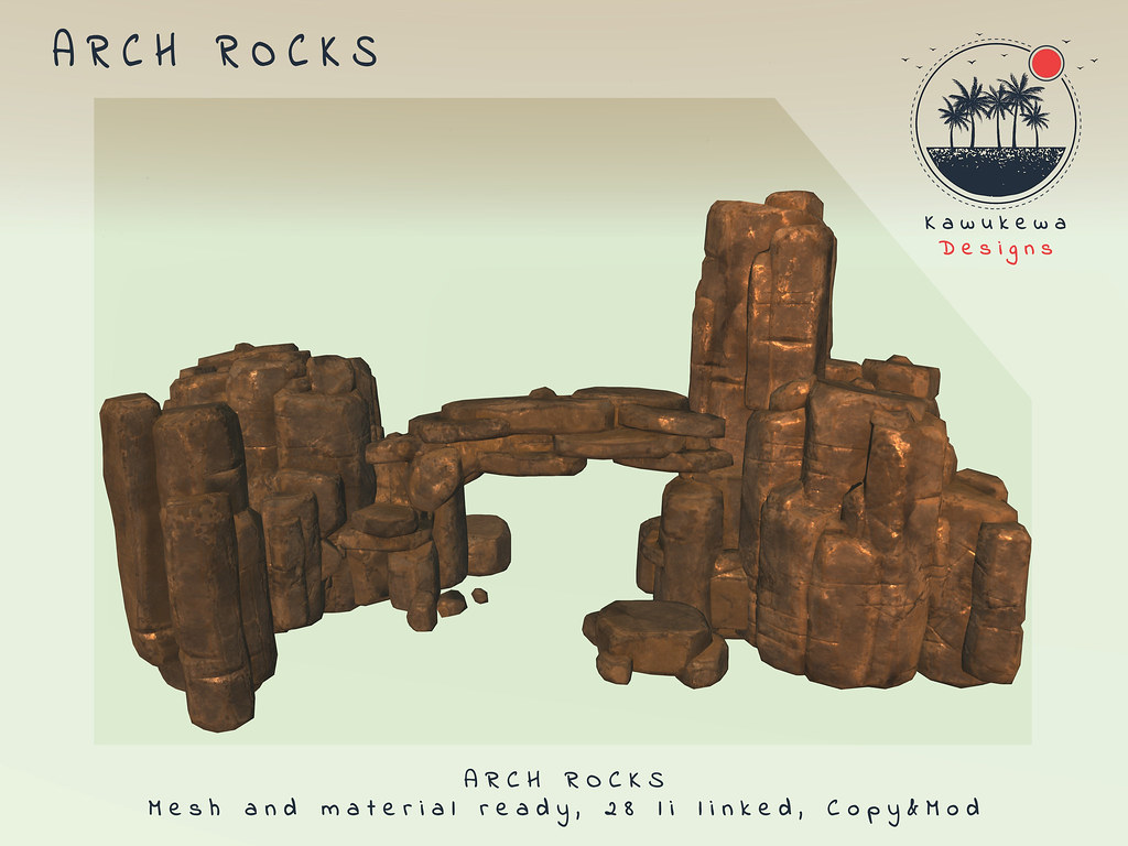 [Kawukewa Designs] Arch Rocks