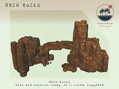 [Kawukewa Designs] Arch Rocks