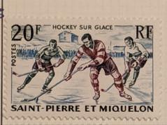 Hockey Sur Glace - St Pierre et Miquelon