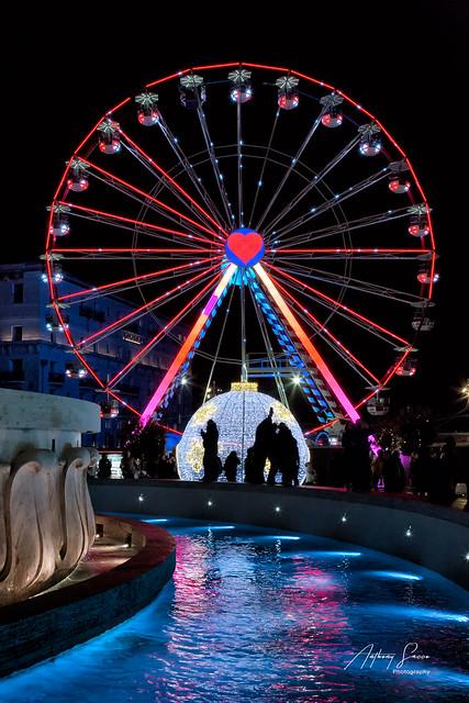Ferris wheel, Valletta  2019