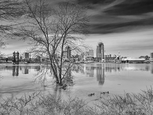 Ohio River at Flood Stage - EM187997