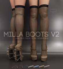 Pure Poison: Milla Boots V2 for Wanderlust Weekend, 50L