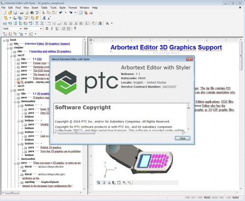 Working with PTC Arbortext Editor 7.1 M060 full