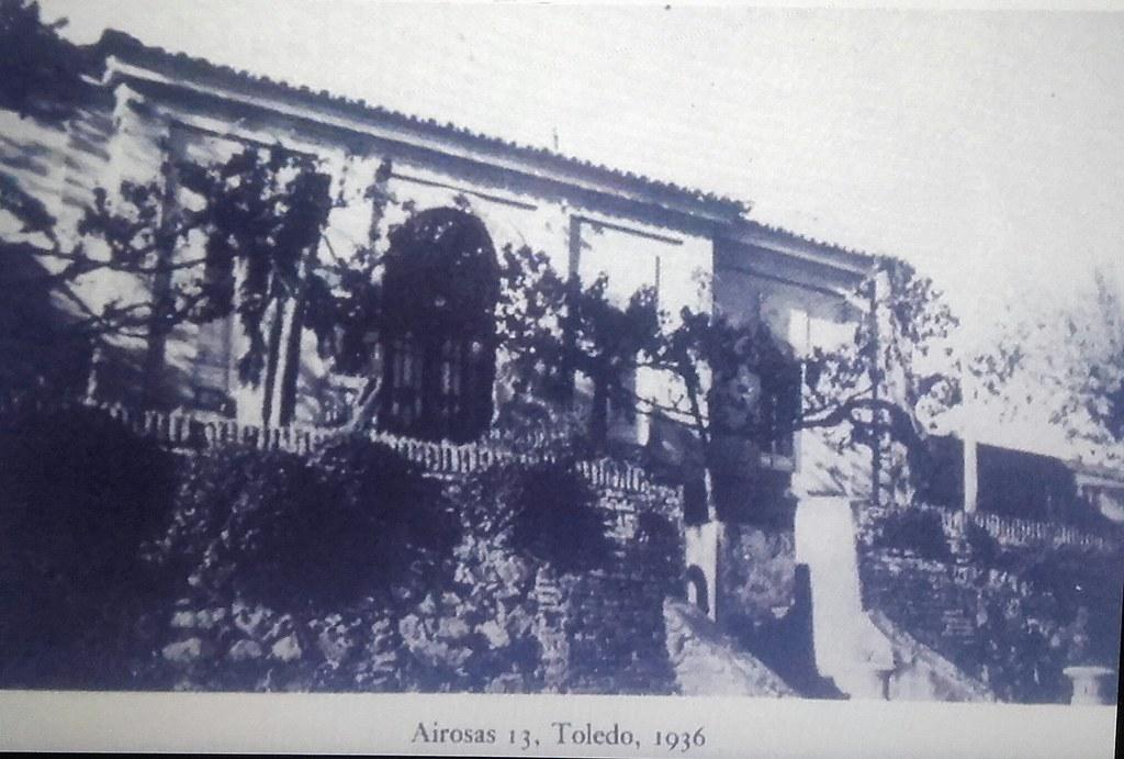 El Hostal del Cardenal cuando era residencia del poeta Roy Campbell en 1936, álbum personal de la familia Campbell