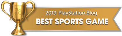 PS Blog Game of the Year 2019 - Best Sports Game - 2 - Gold