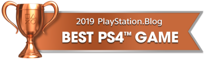 PS Blog Game of the Year 2019 - Best PS4 Game - 4 - Bronze