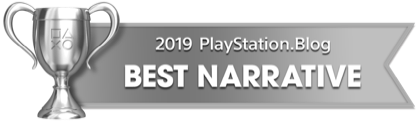 PS Blog Game of the Year 2019 - Best Narrative - 3 - Silver