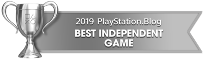 PS Blog Game of the Year 2019 - Best Independent Game - 3 - Silver