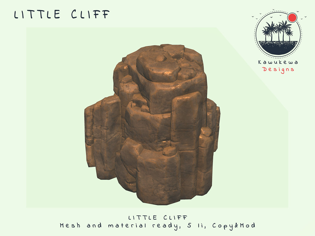[Kawukewa Designs] Little Cliff