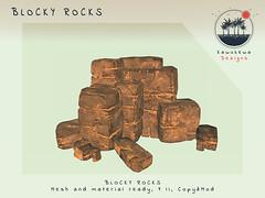 [Kawukewa Designs] Blocky Rocks