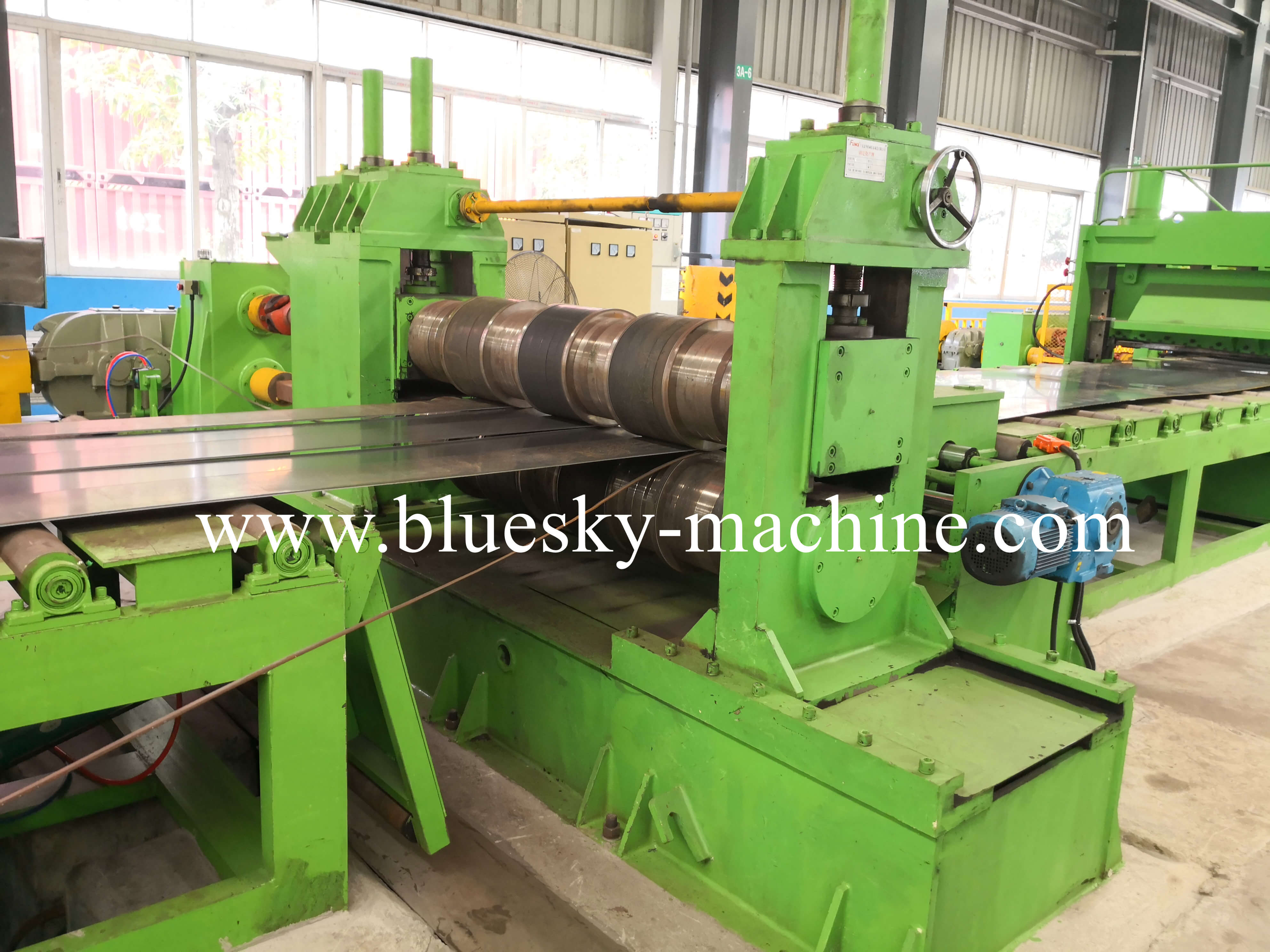 coil slitting and rewinding machine hydraulic loop pit Ⅰ