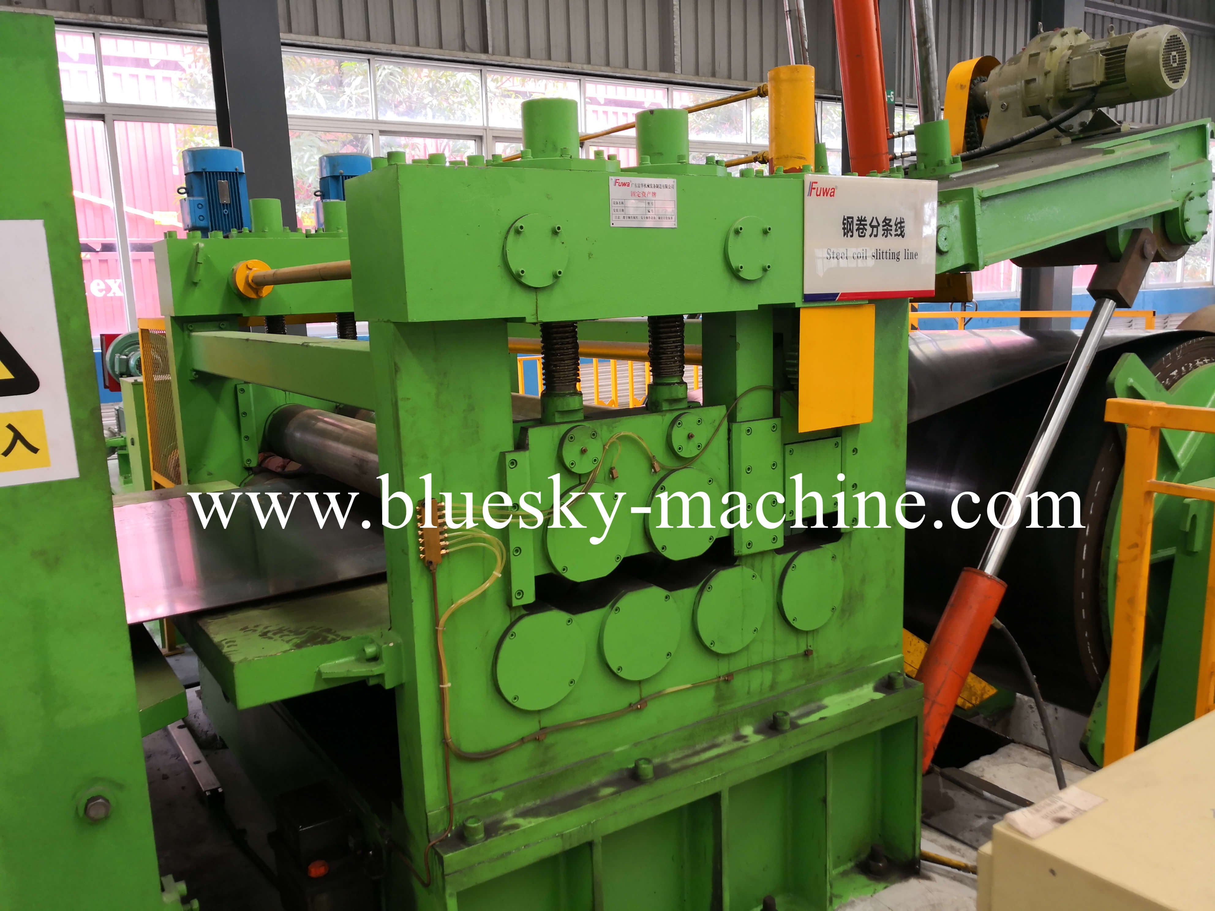 coil slitting and rewinding machine pre-leveler