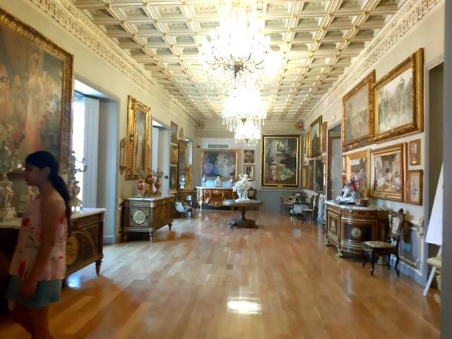 Una de las salas de la Casa Museo Bellver...