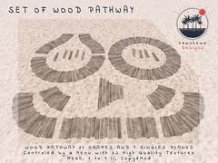 [Kawukewa Designs] Wood Pathway