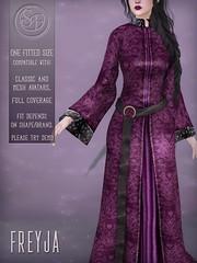 Senzafine . Freyja Robe Poster