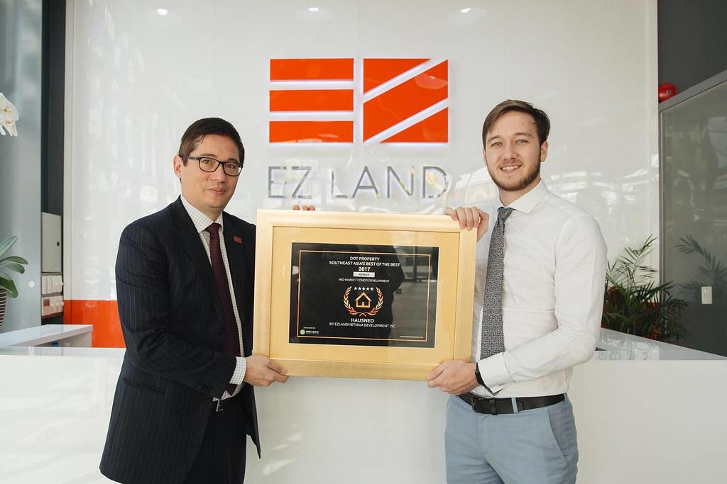 EZ Land nhận giải thưởng căn hộ tầm trung tốt nhất Đông Nam Á