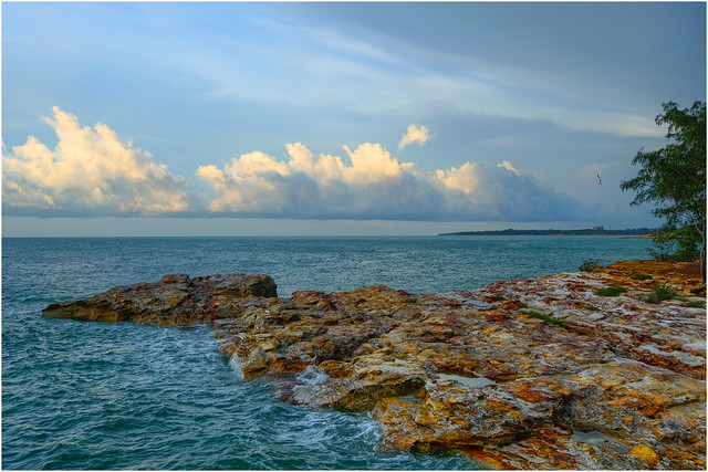 Nightcliff seascape - Darwin Harbour, NT, Australia
