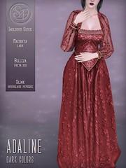 Senzafine . Adaline Gown (Darks) Poster