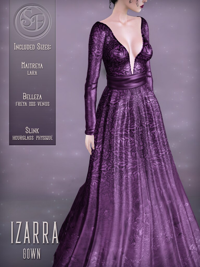 Senzafine . Izarra Gown Poster