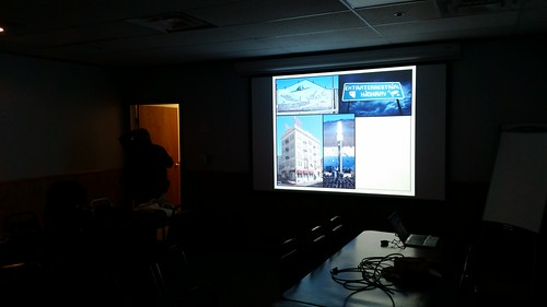Blue Room Projector