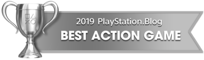 PS Blog Game of the Year 2019 - Best Action Game - 3 - Silver