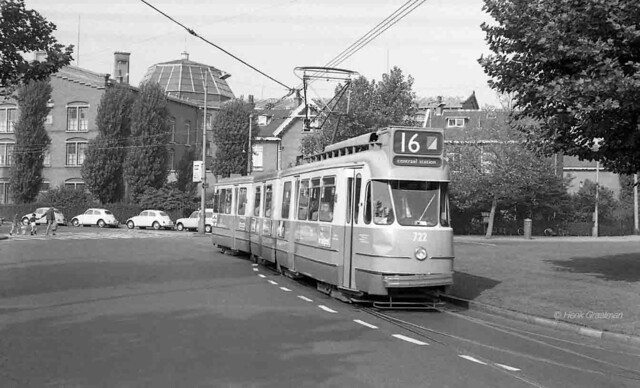 Amsterdamse trams - Oud in zuid