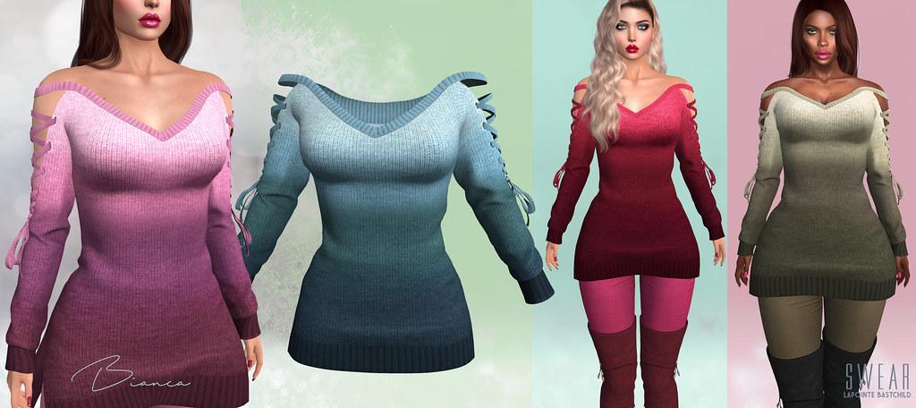 L&B Mainstore Release:  Bianca Sweater!
