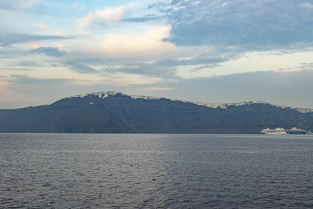 Santorini from the Caldera