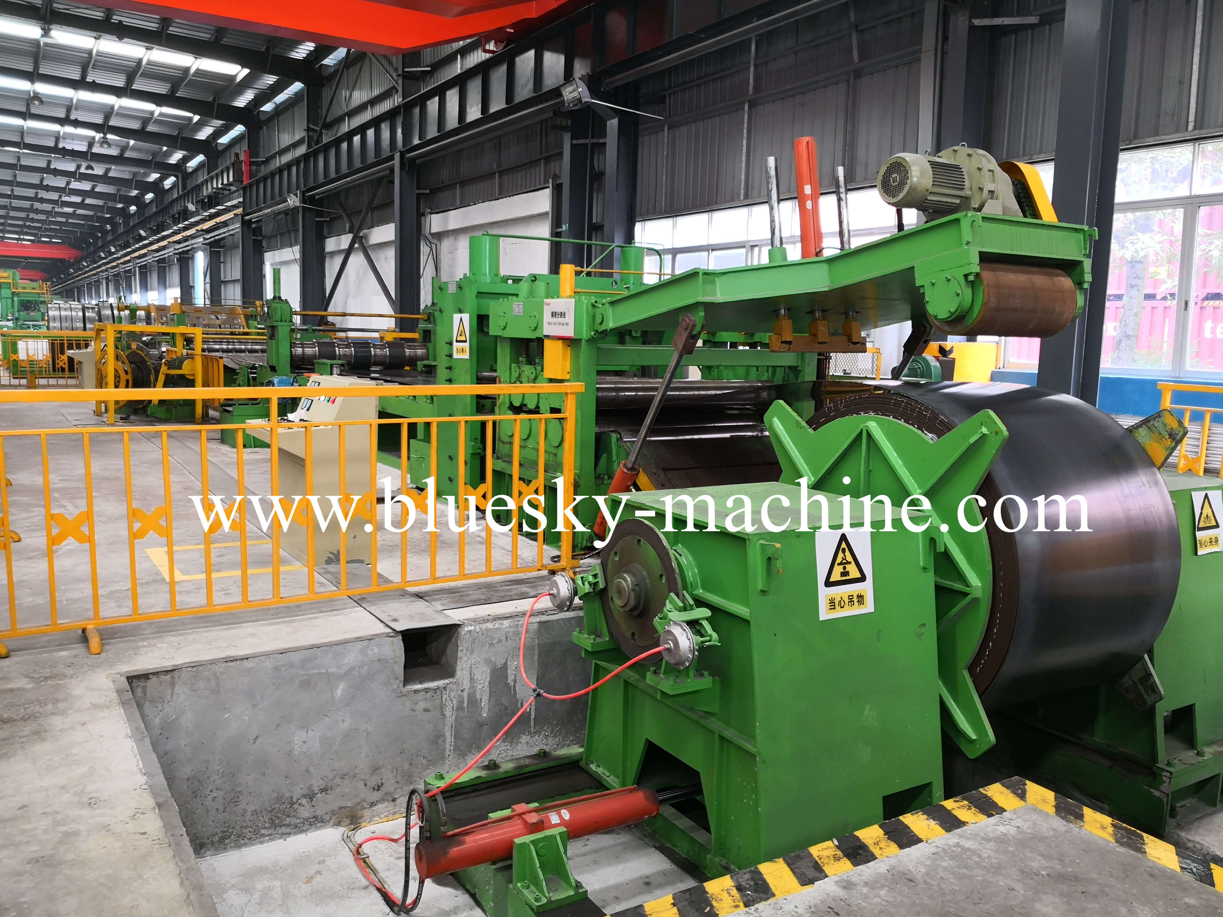 coil slitting and rewinding machine