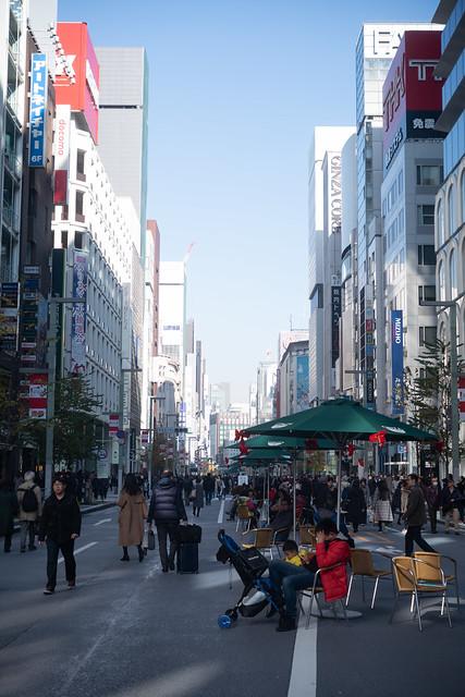 Ginza main street