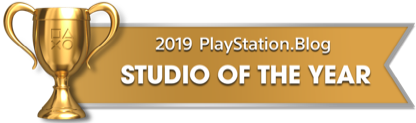 PS Blog Game of the Year 2019 - Studio of the Year - 2 - Gold