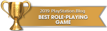 PS Blog Game of the Year 2019 - Best Role-Playing Game - 2 - Gold