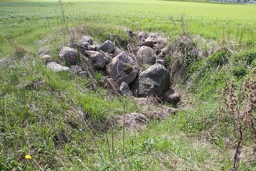 Kukruse põlevkivikaevanduse varinguauk / Sinkhole in Kukruse oil shale mine in Estonia