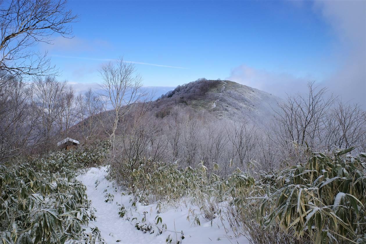 飯縄山 雪山登山