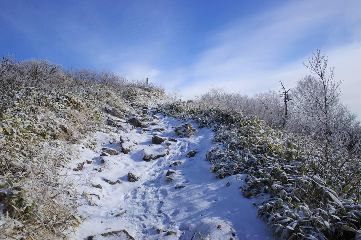 飯縄山 日帰り雪山登山