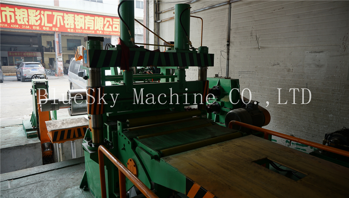 ss slitting machine shearer