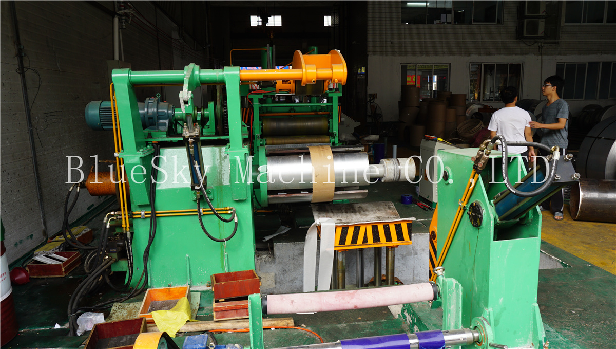 ss slitting machine paper collector