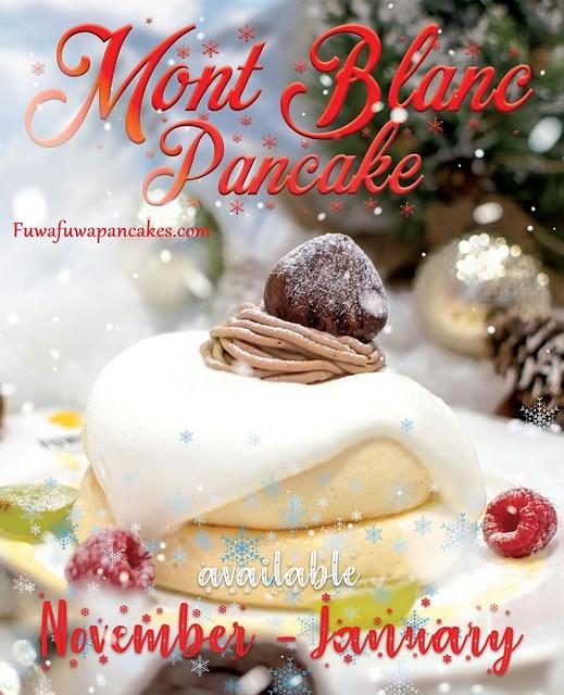 Fluffy Japanese Pancakes - Mont Blanc Pancake