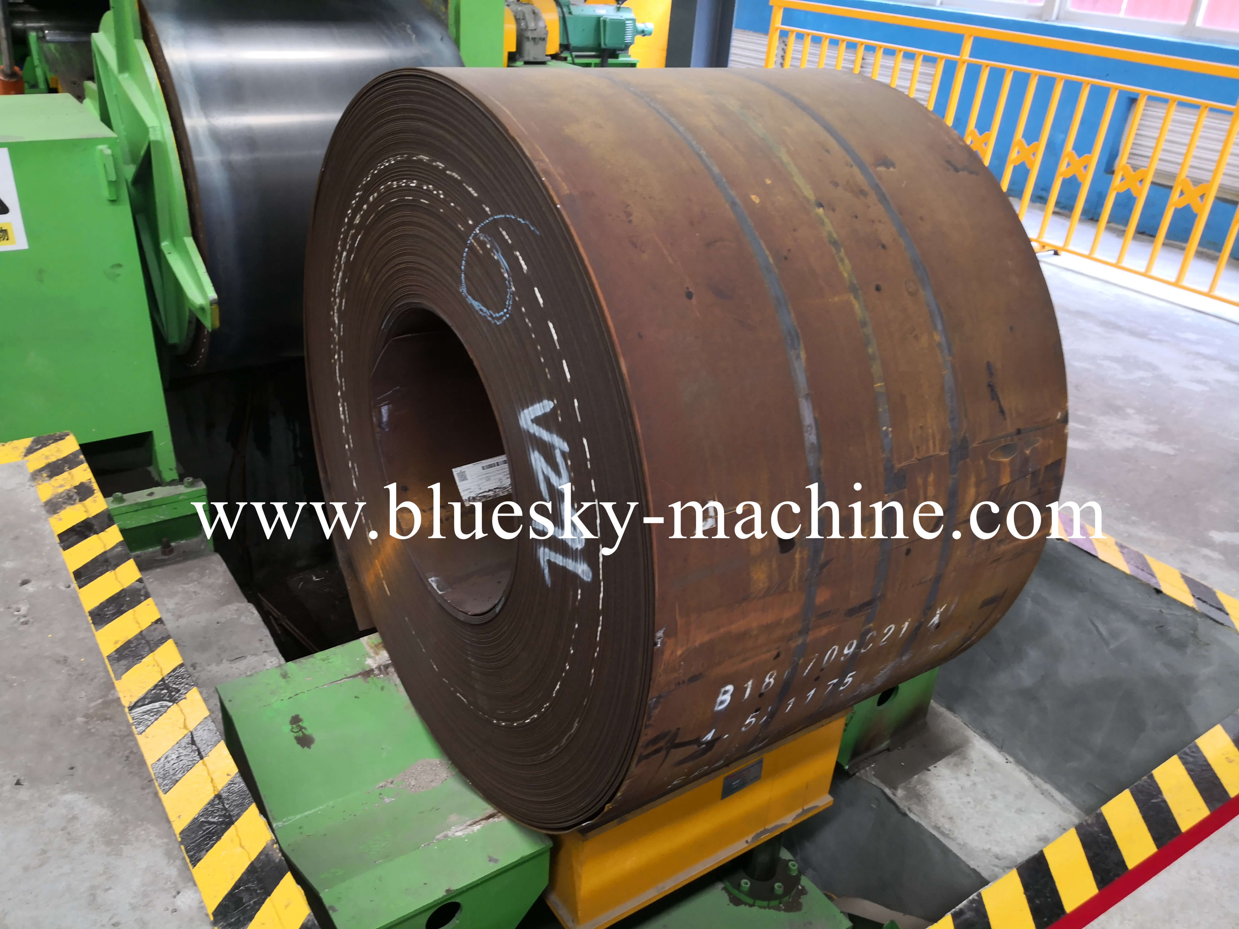 coil slitting and rewinding machine hydraulic coil car