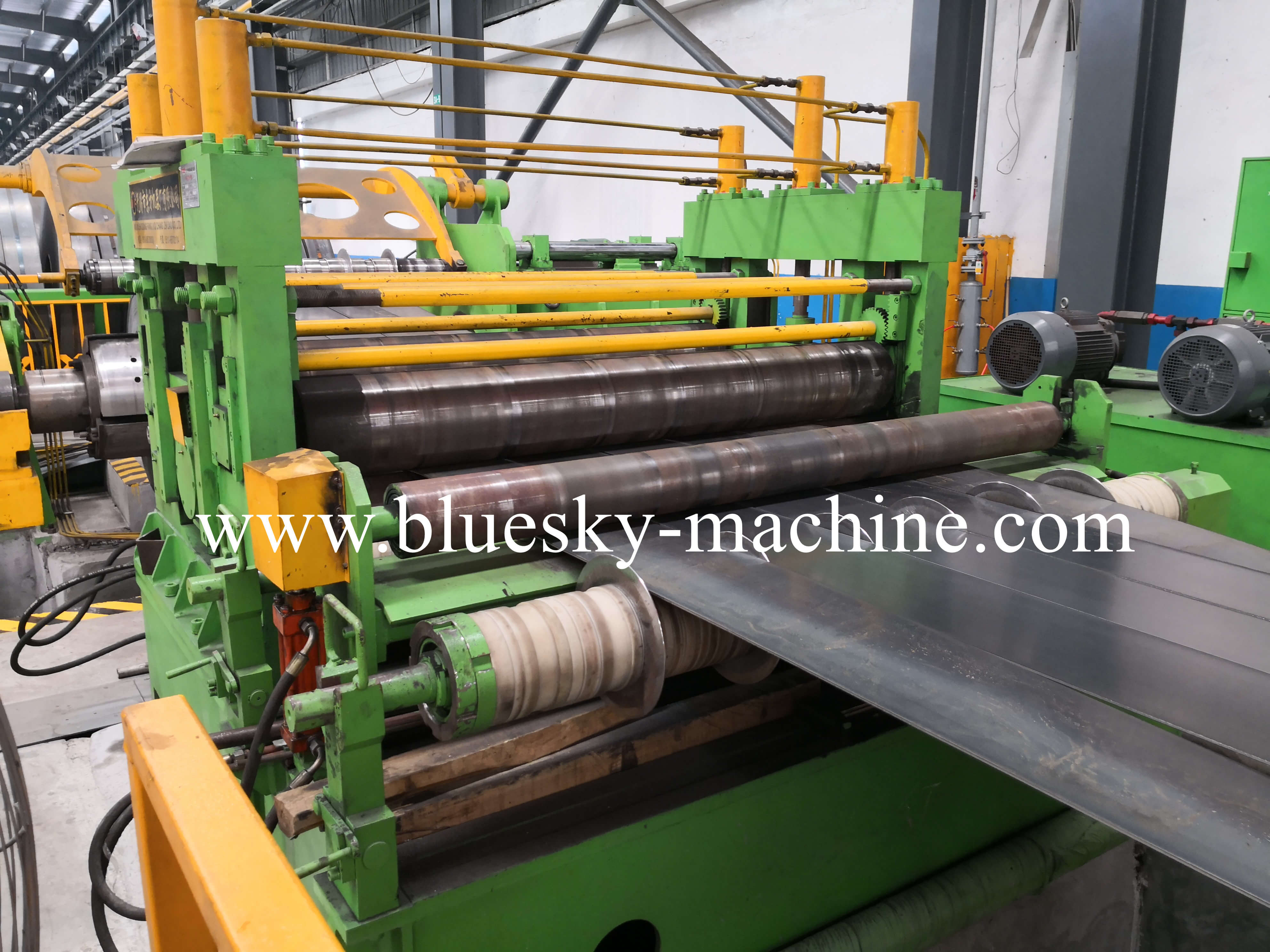coil slitting and rewinding machine separator unit