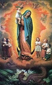 Guadalupe y niños