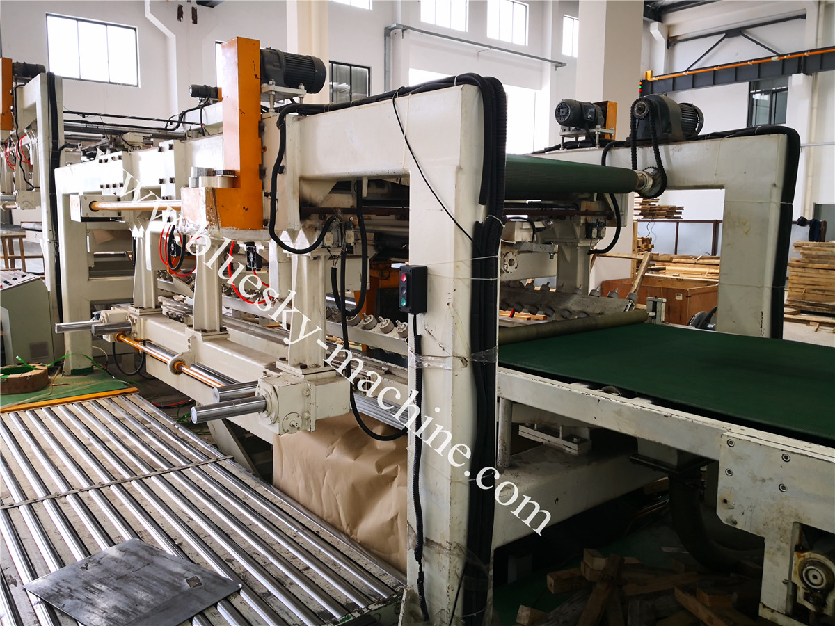 Fly Shear CR Steel Cut To Length Line Machine BSRCL-(0.3-1.5)×1250 mm pneumatic stacker