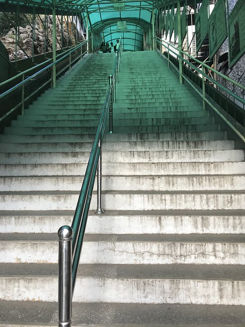 Stairs to the Baguio Cathedral