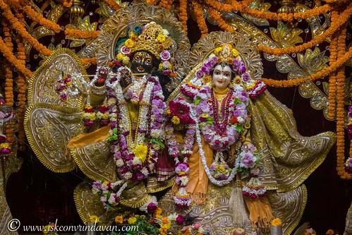 ISKCON Vrindavan Deity Darshan 14 Dec 2019