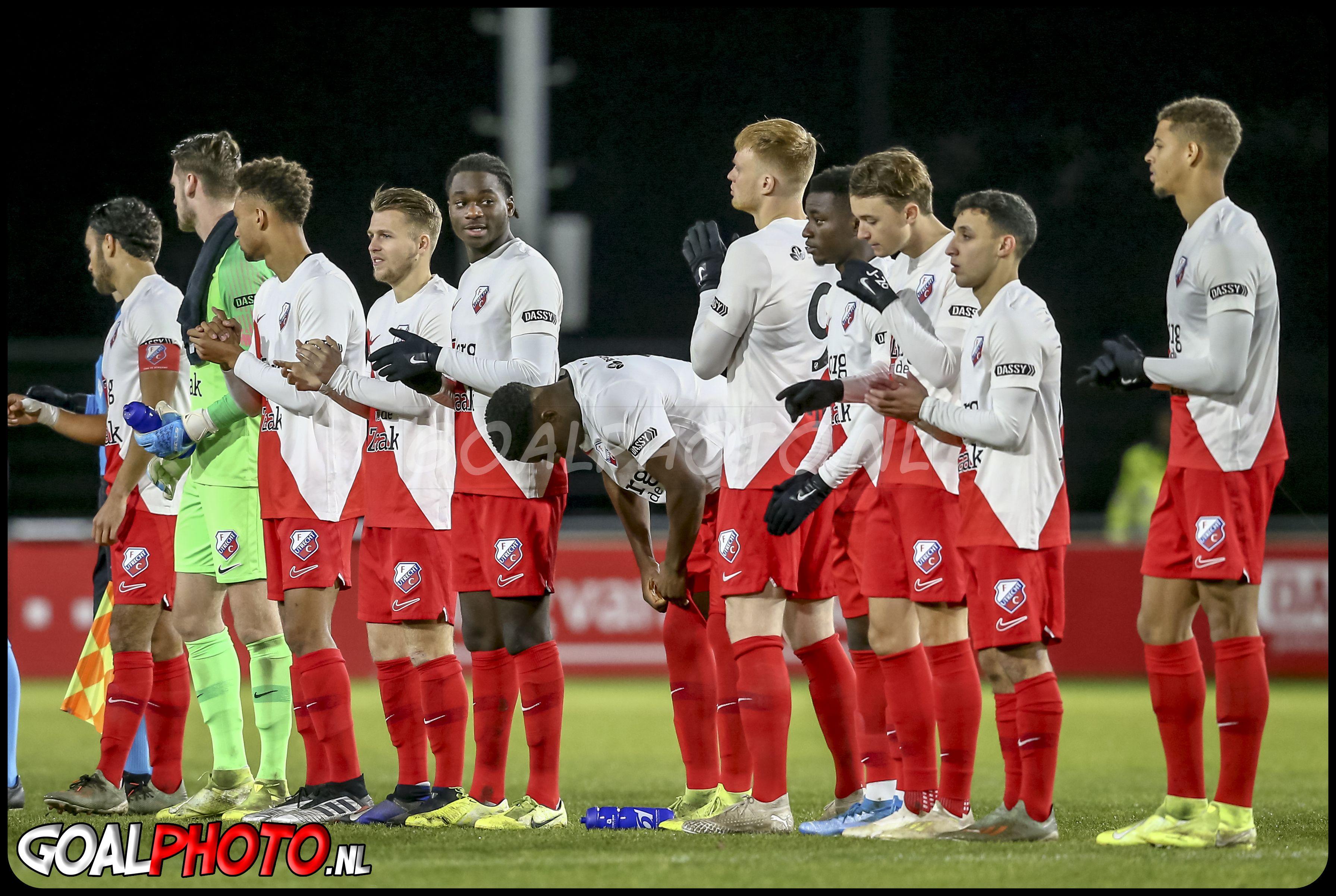 Jong FC Utrecht - FC Eindhoven 13-12-2019