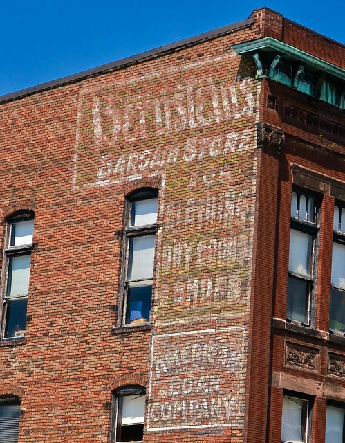 Ghost Signage, Galesburg, IL