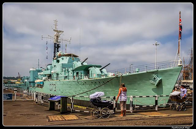 HMS Cavalier (R73)_Chatham, Kent - The Historic Dockyard_England