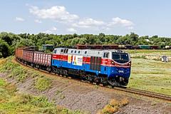 KTZ freight train